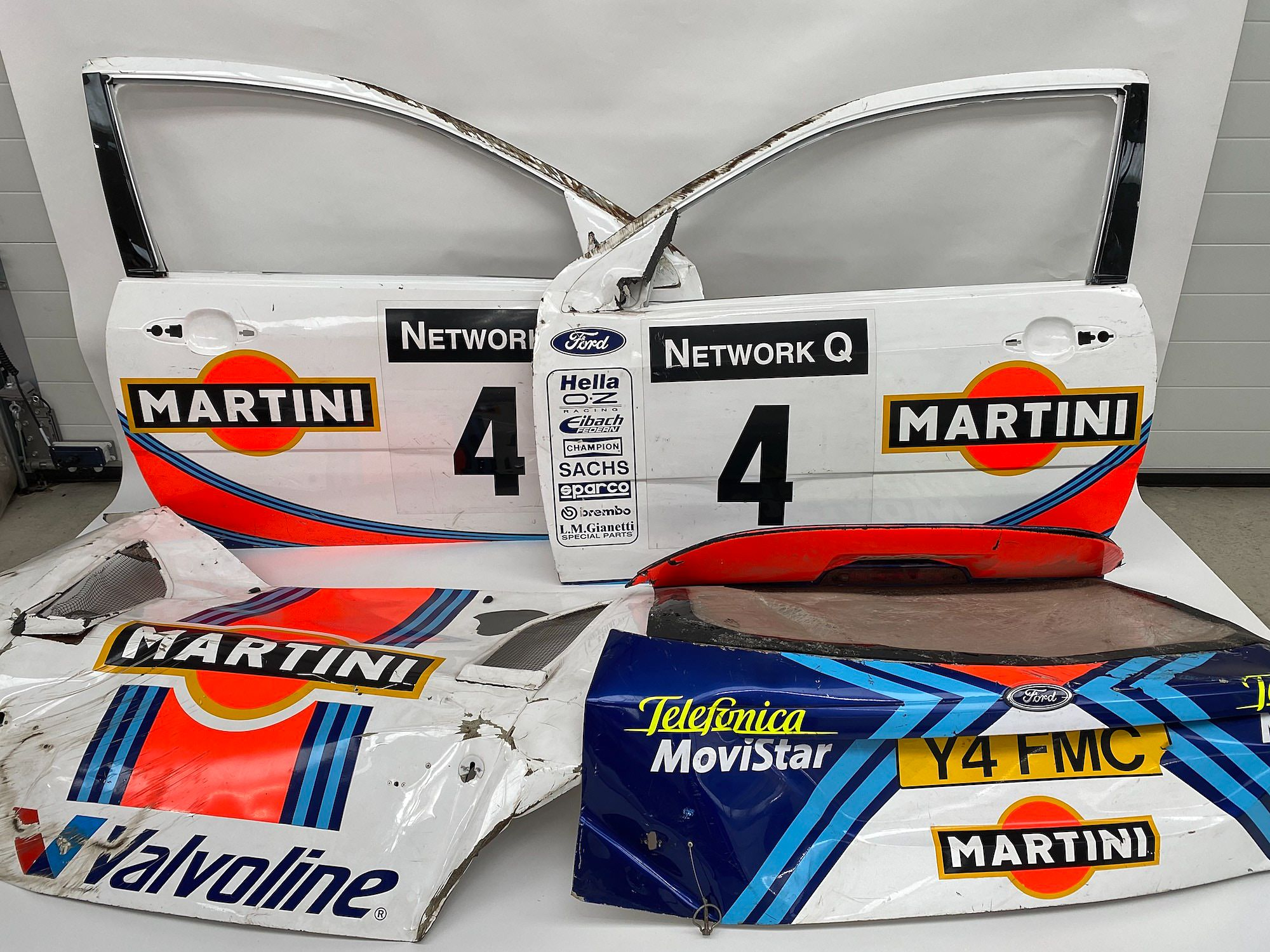 Ford Focus RS WRC Body Panels