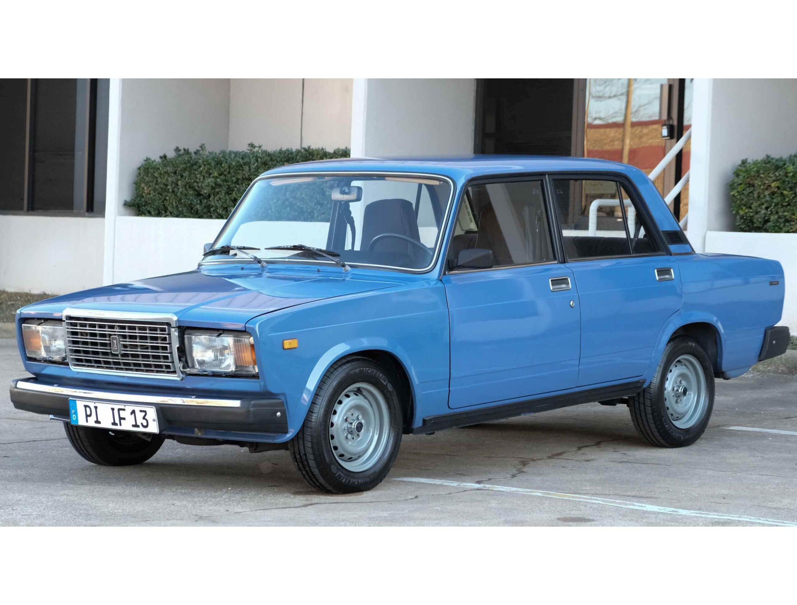 Lada Riva Russian Car