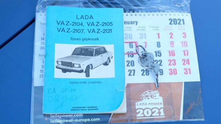 Lada Riva Sedan Car 1
