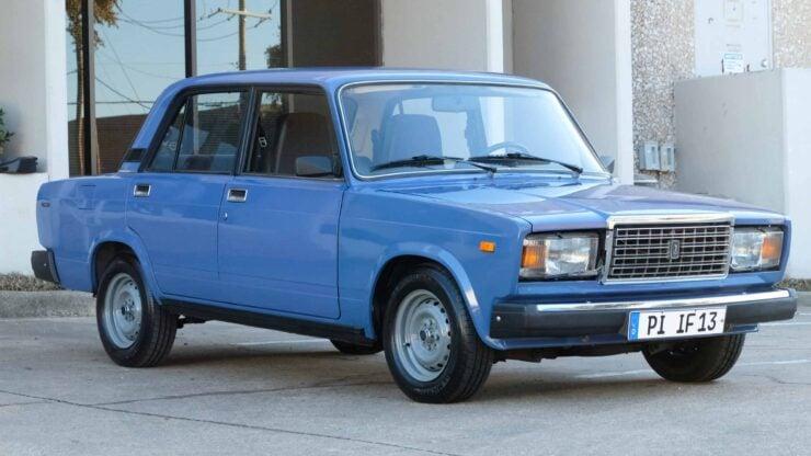 Lada Riva Sedan Car 2