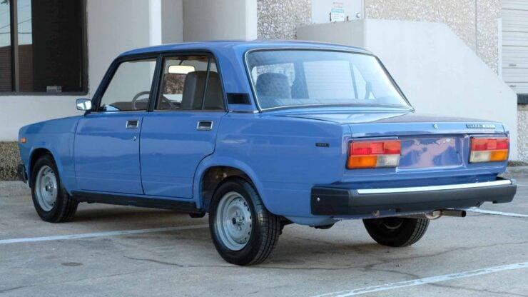 Lada Riva Sedan Car 4