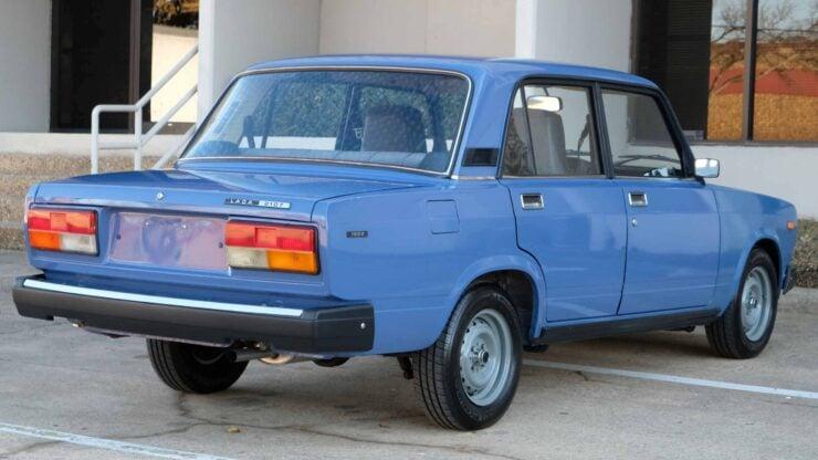 Lada Riva Sedan Car 5