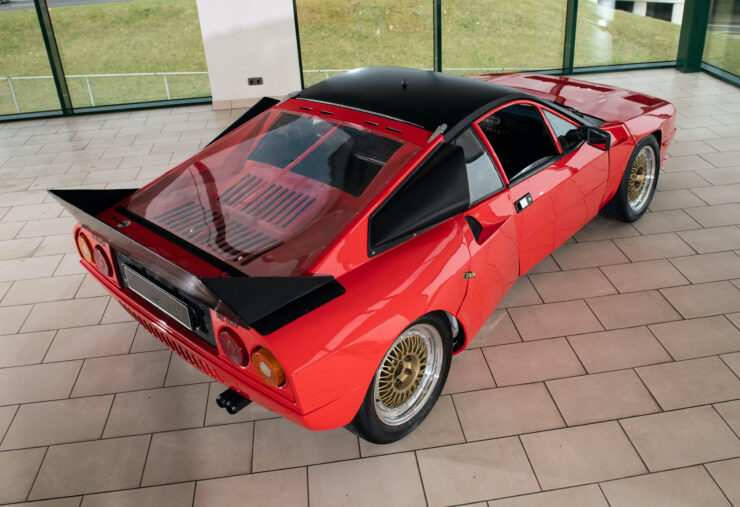 Lancia Rally 037 Prototype Back