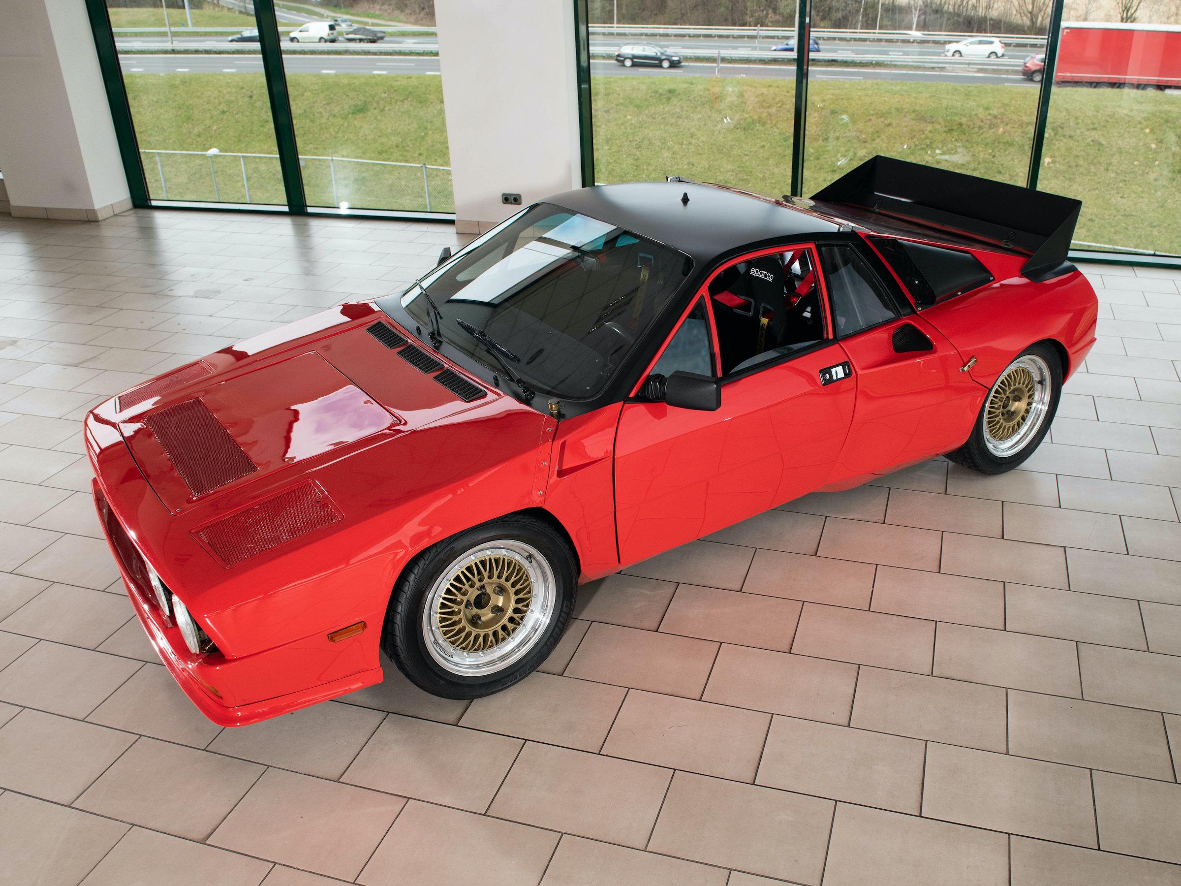 Lancia Rally 037 Prototype Car