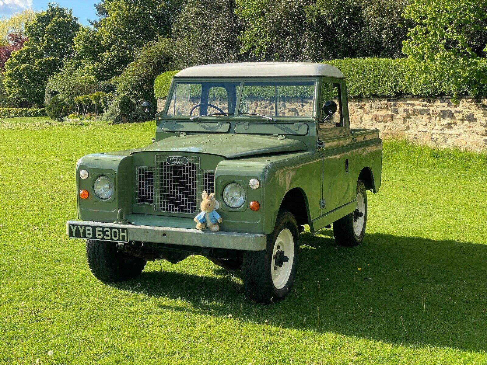 Land Rover Series 2A Peter Rabbit 2