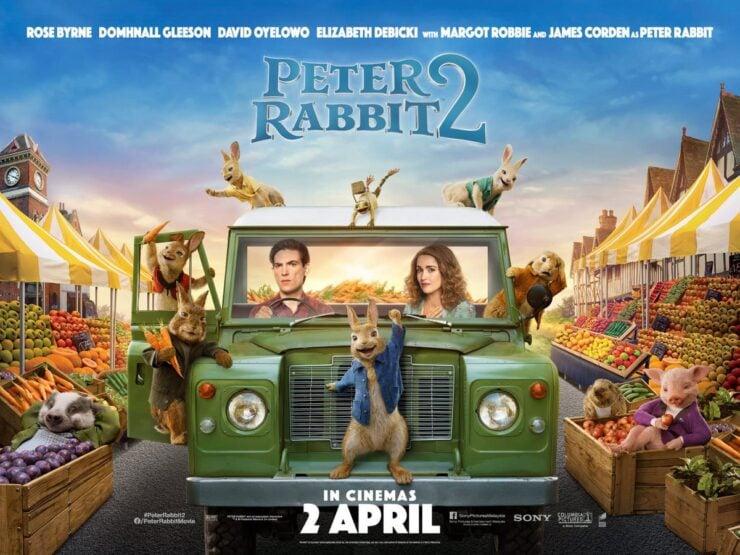 Peter Rabbit 2 Land Rover