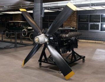 Rolls-Royce Merlin V12 Aero Engine