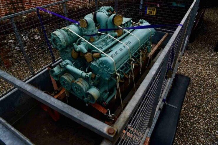 Rolls-Royce Meteor V12 9