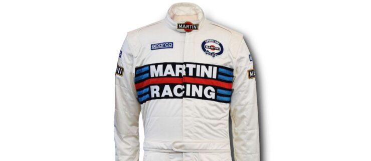 Sparco Martini Racing Race Suit Details