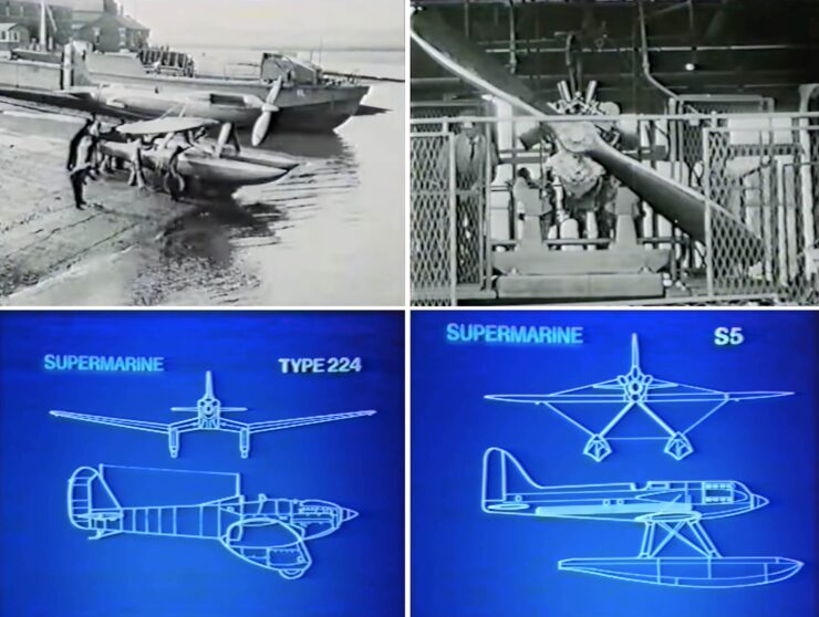 Vickers Supermarine Spitfire Collage