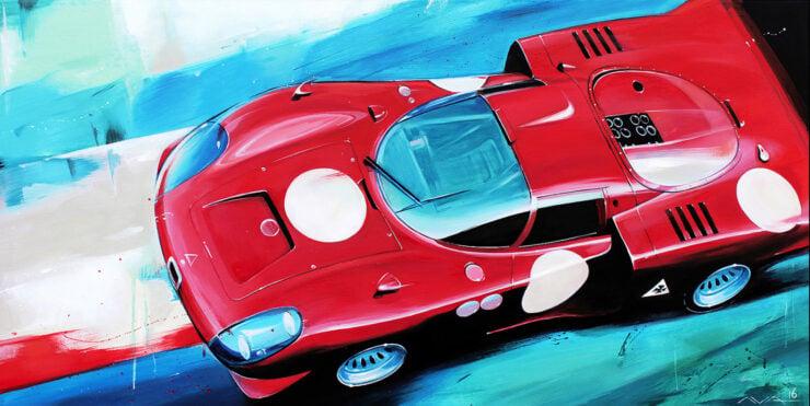 Alfa Romeo Tipo 33 Daytona Art