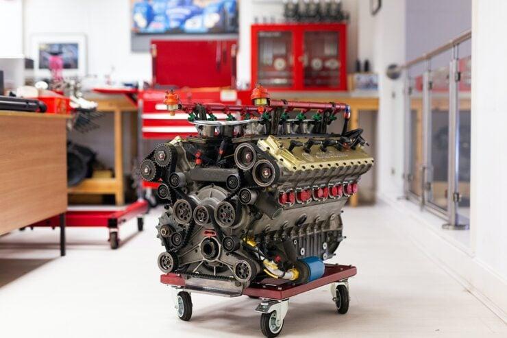 Alfa Romeo V10 V1035 Formula 1 Engine 10