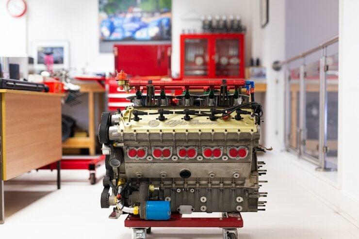 Alfa Romeo V10 V1035 Formula 1 Engine 11