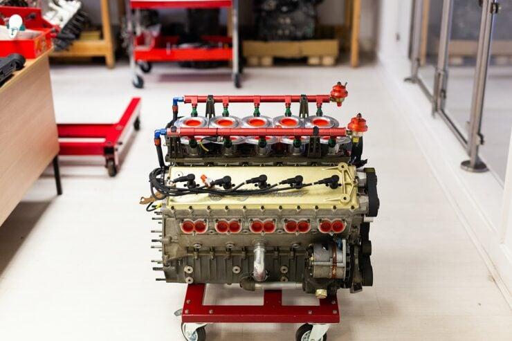 Alfa Romeo V10 V1035 Formula 1 Engine 6