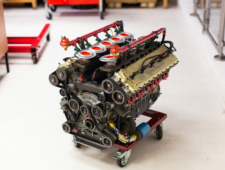 Alfa Romeo V10 V1035 Formula 1 Engine