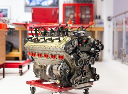 Alfa Romeo V10 V1035 Formula 1 Engine 8