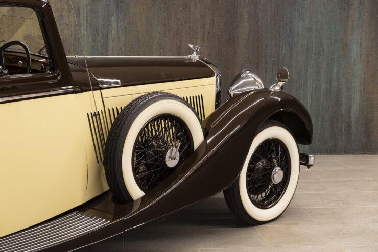 Bentley 4¼ Liter Pillarless Saloon 11
