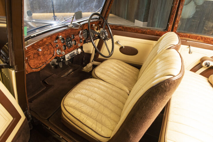 Bentley 4¼ Liter Pillarless Saloon 4