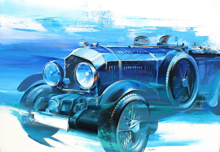 Bentley Blower Artwork
