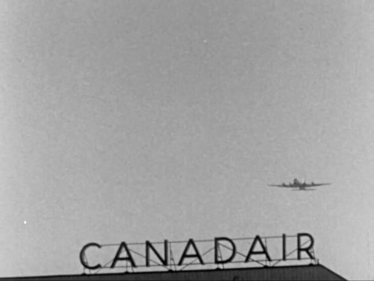 Birth Of A Giant Canadair