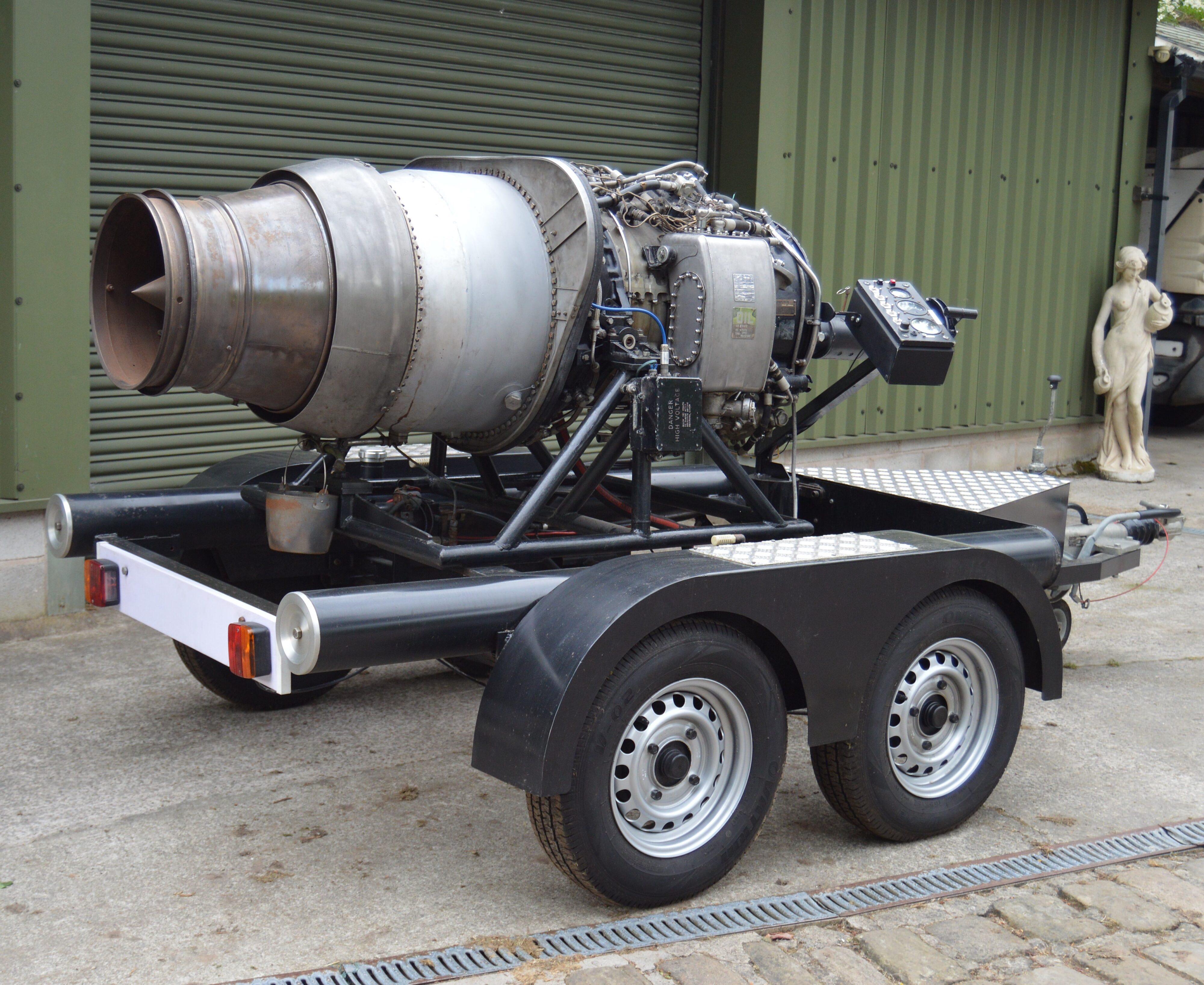 Bristol Siddeley Viper Turbojet Engine