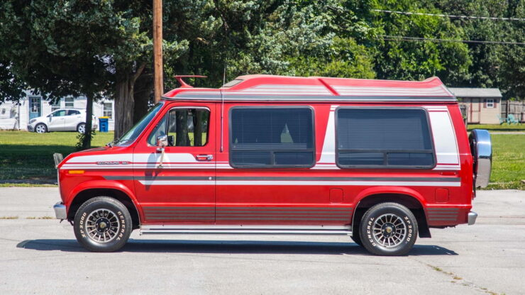 Custom Ford Econoline Van 1