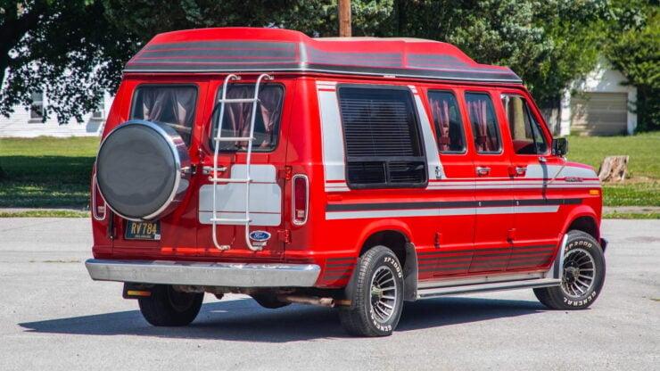 Custom Ford Econoline Van 2