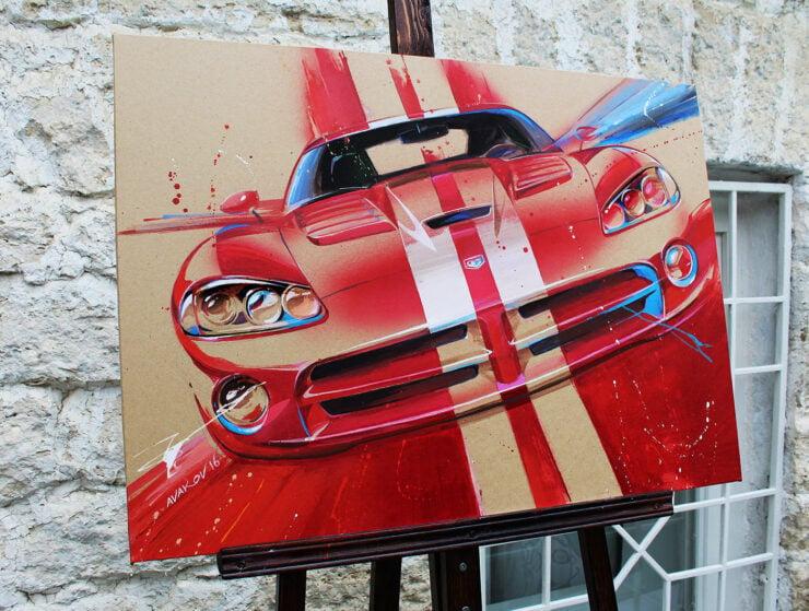 Dodge Viper Art