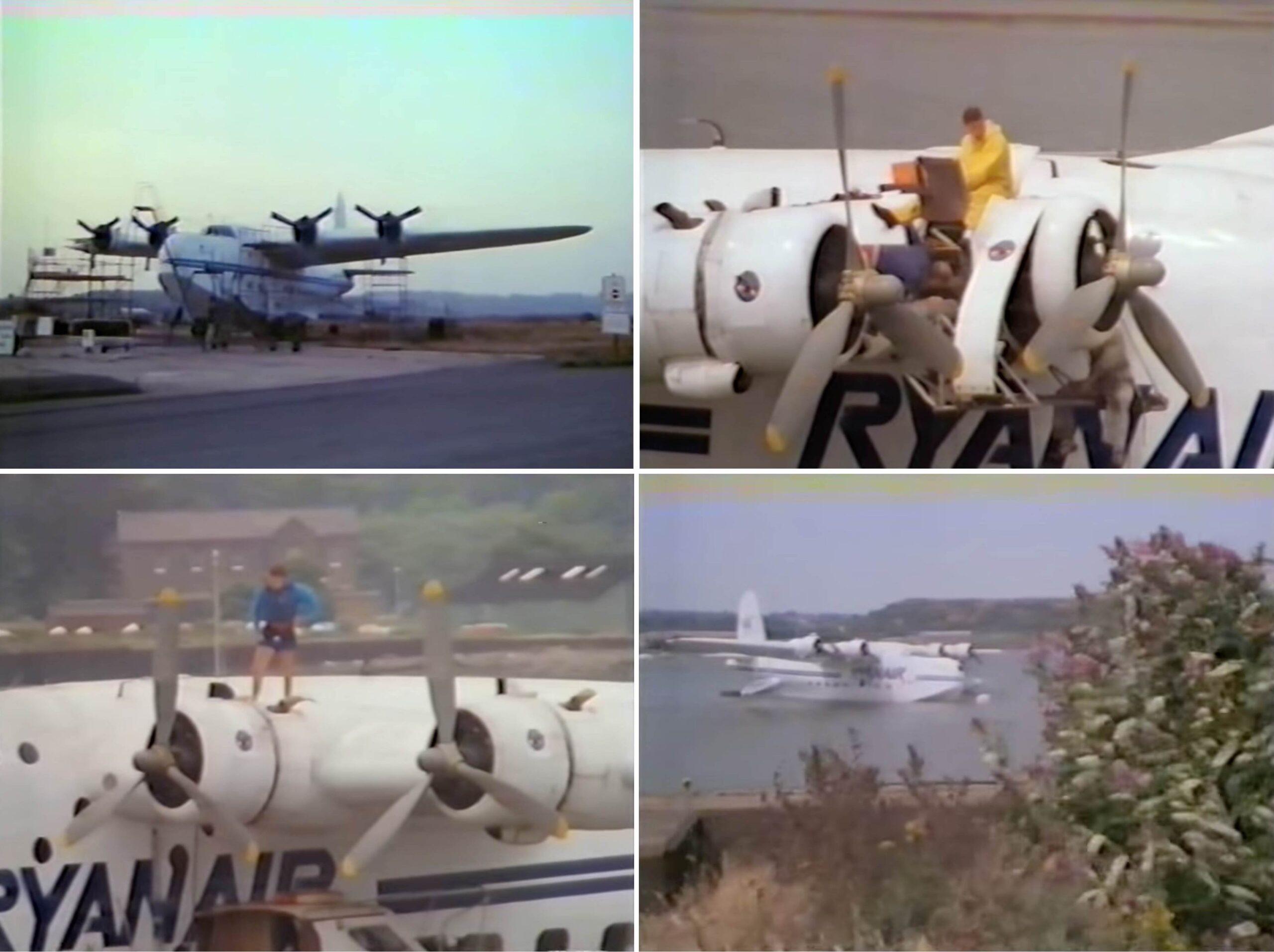Edward's Flying Boat Collage 1