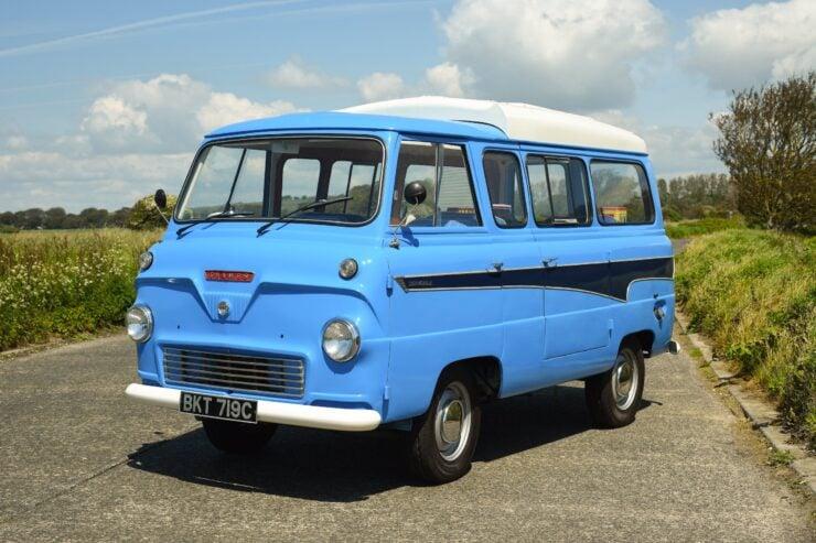 Ford Thames 400E Dormobile Campervan 2