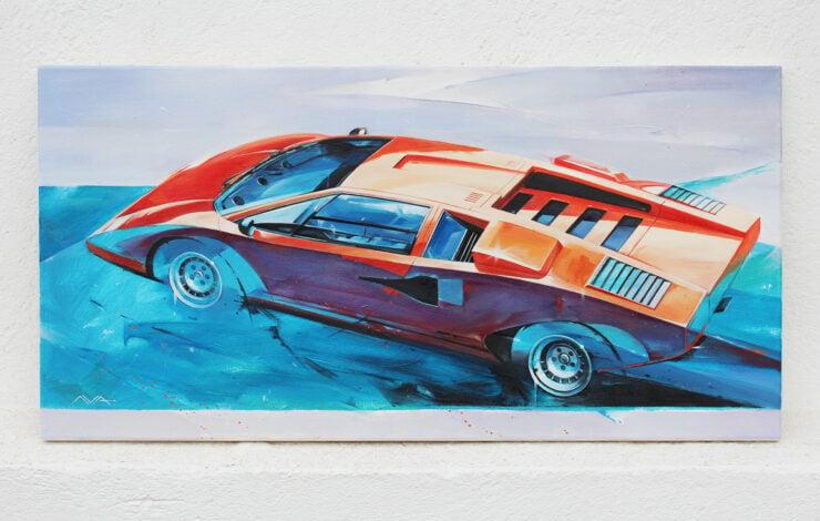 Lamborghini Countach Art