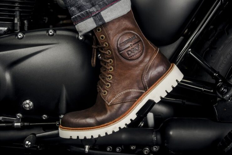 McQueen Moto Boots by Umberto Luce