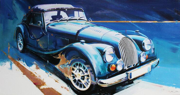 Morgan Car Art