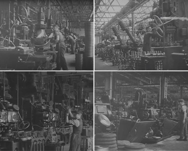 Morris Motors Factory Film 1