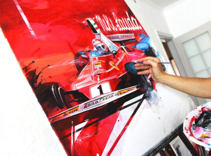 Niki Lauda Art