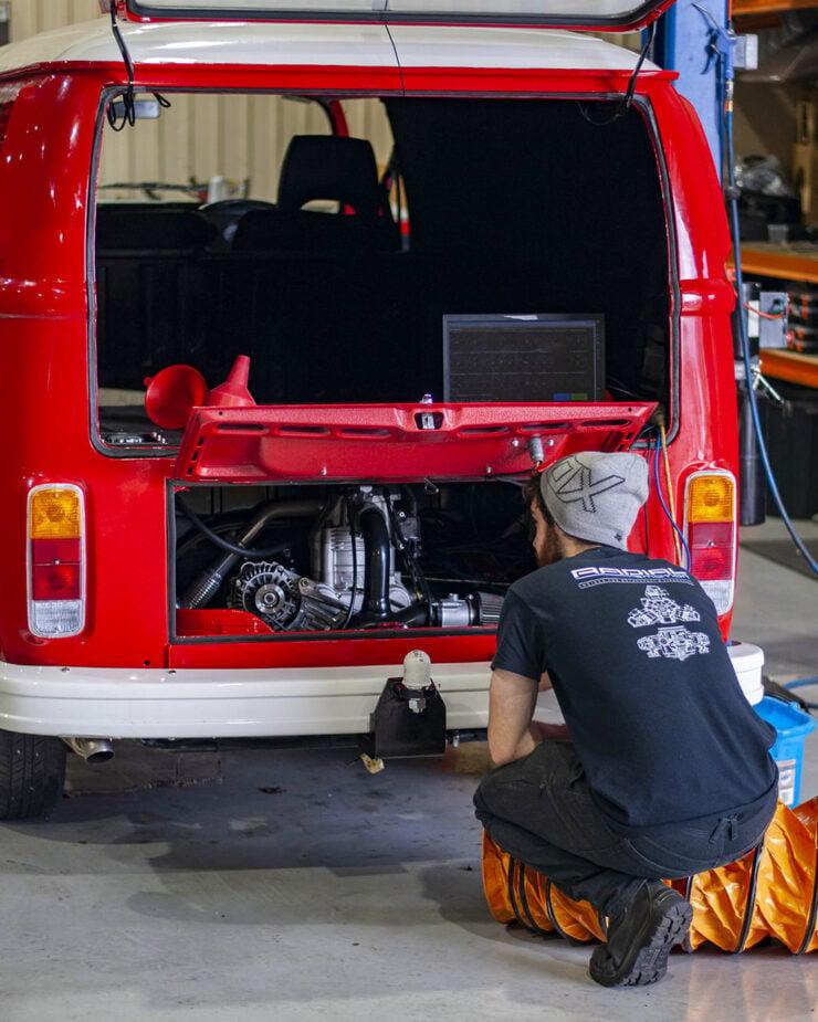 Radial Motion Engine VW Kombi 1