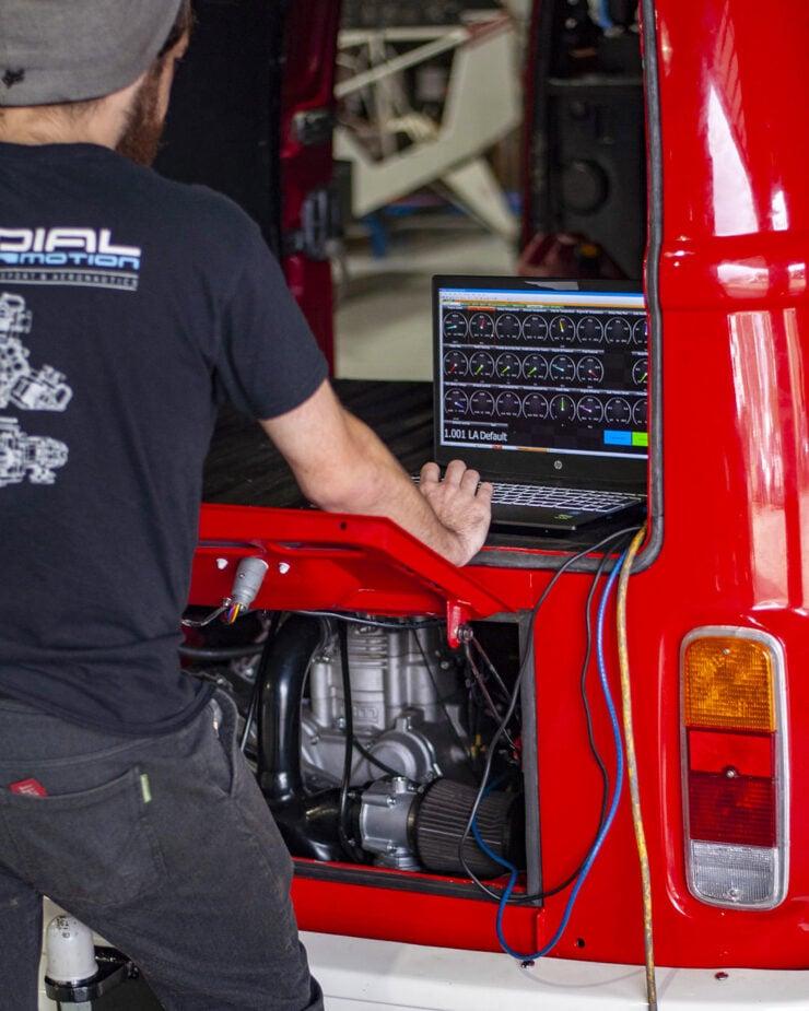 Radial Motion Engine VW Kombi 3