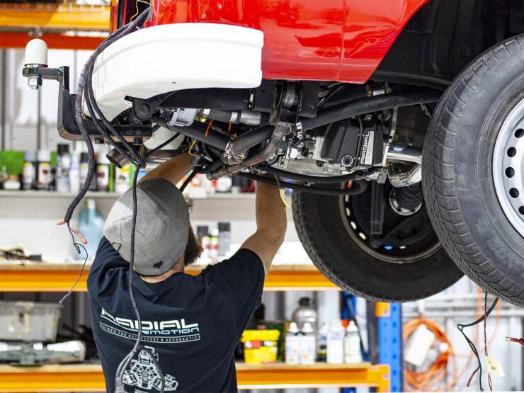Radial Motion Engine VW Kombi