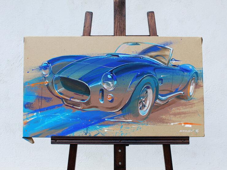Shelby Cobra Art