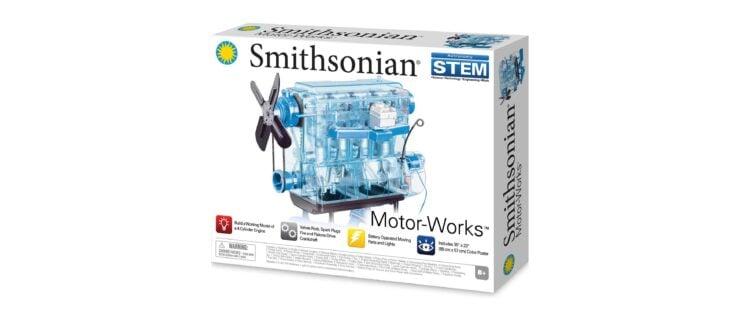 Smithsonian Motor-Works Engine Model Box