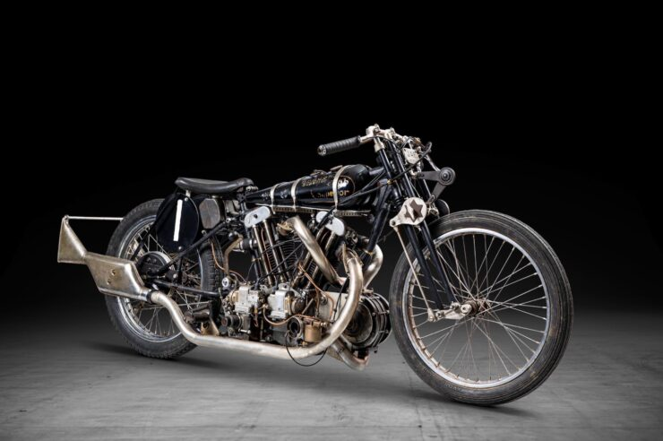 Supercharged Brough Superior SS100 Special 1