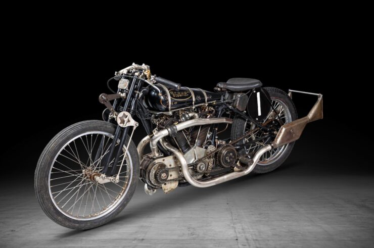 Supercharged Brough Superior SS100 Special 11