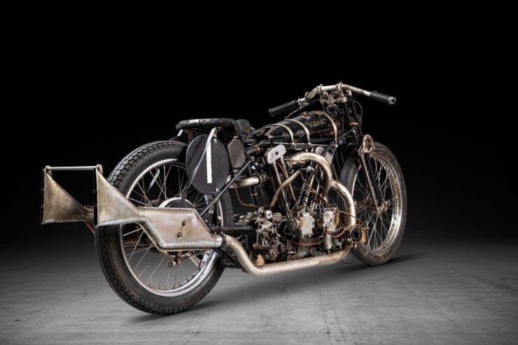 Supercharged Brough Superior SS100 Special 12