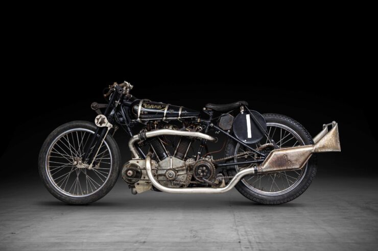Supercharged Brough Superior SS100 Special 13