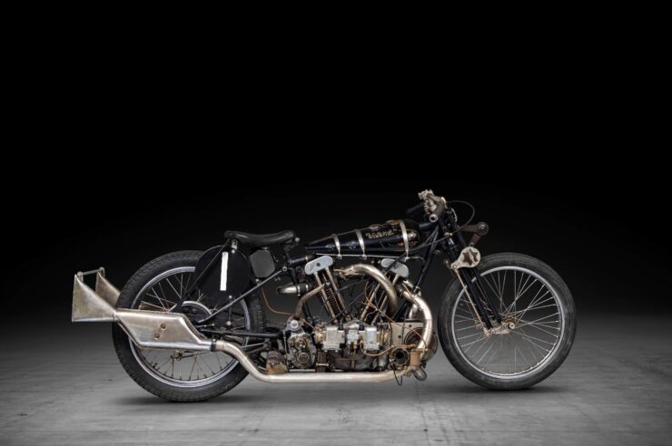 Supercharged Brough Superior SS100 Special 14
