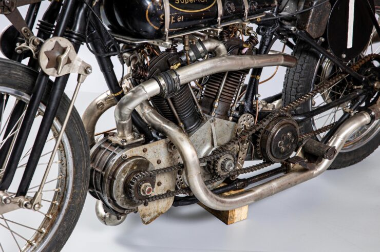 Supercharged Brough Superior SS100 Special 2