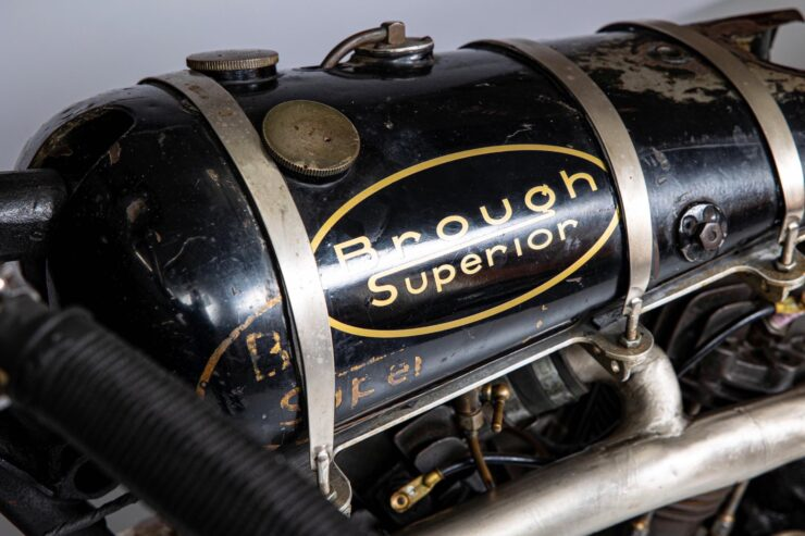 Supercharged Brough Superior SS100 Special 4
