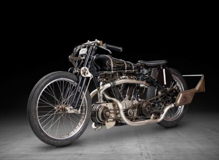 Supercharged Brough Superior SS100 Special
