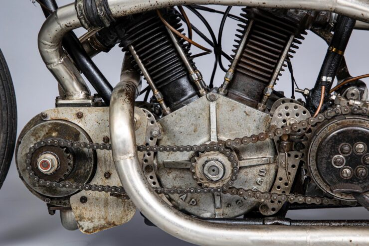 Supercharged Brough Superior SS100 Special 5