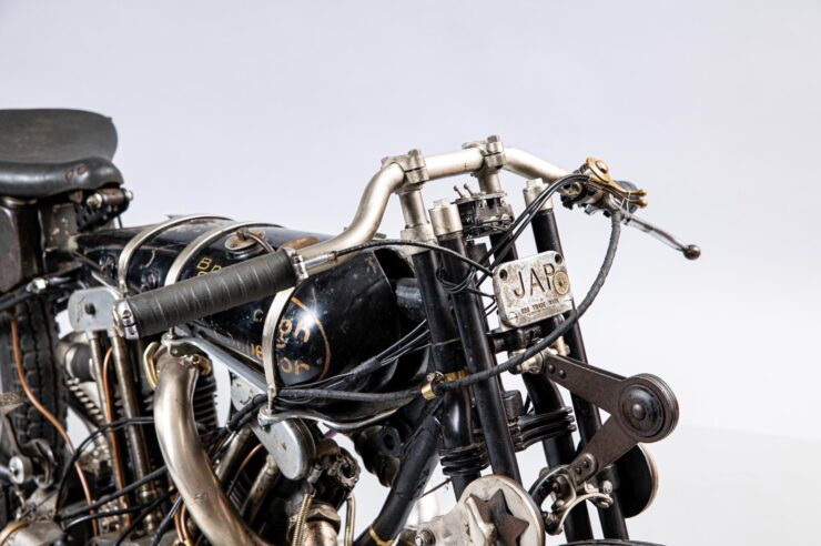 Supercharged Brough Superior SS100 Special 6